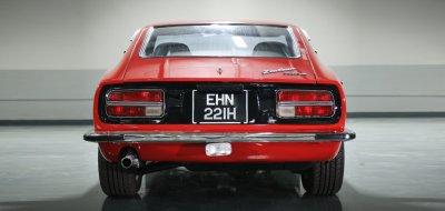 Datsun 240Z rear iew