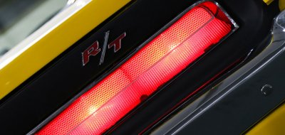 Dodge Charger R/T 1969 taillight closeup