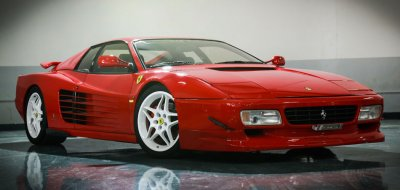 Ferrari F512TR Testarossa 1993 front/side view