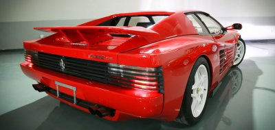 Ferrari F512TR Testarossa 1993 rear right view