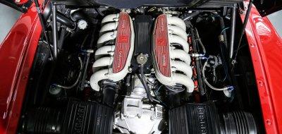 Ferrari F512TR Testarossa 1993 engine