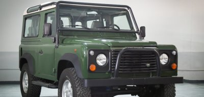 Land Rover Defender 1997 front right view