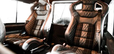 Land Rover Defender 2006 KAHN edition interior