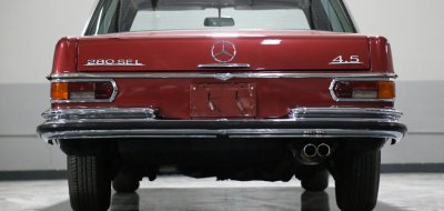 Mercedes Benz 280SEL 1972 rear view