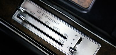 Oldsmobile Cutlass Supreme 1970 AC controls