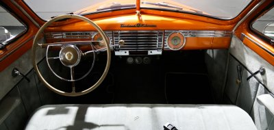 Packard Clipper 1946 interior