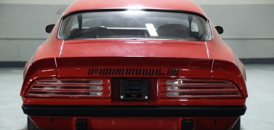 Pontiac Firebird Formula 1974 rear view