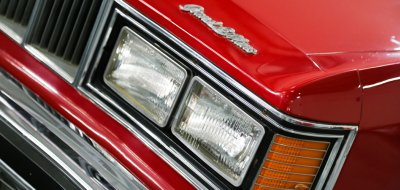 Pontiac Grand Le Mans 1976 headlight
