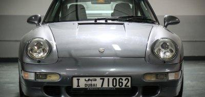 Porsche 993 1998 front view