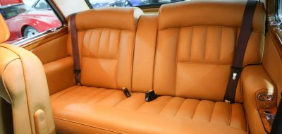 Rolls Royce Corniche 1973 backseat