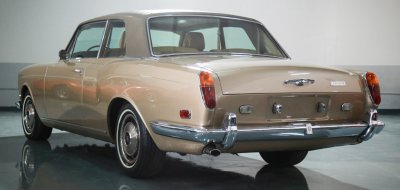 Rolls Royce Corniche 1973 rear left view