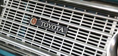 Toyota Corona front closeup