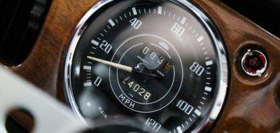 Triumph TR4 speedometer
