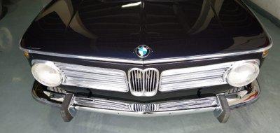 Restoration of BMW 2002 - year 1972