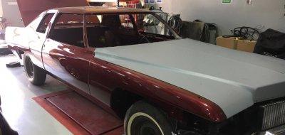 ترميم سيارة كاديلاك موديل عام ١٩٧٦