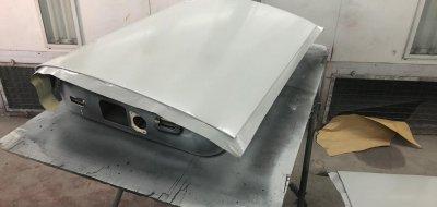 Lincoln Continental 1961 - restoration process