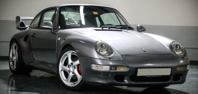 Porsche 993 1998 front right view