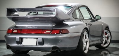 Porsche 993 1998 rear right view