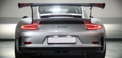 Porsche GT3 RS 2016 rear view