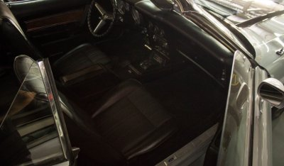 "Ford Mustang ""Boss"" 1973 interior"