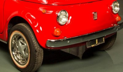Fiat 500 1971 front left view - closeup