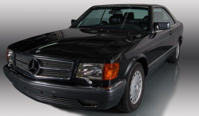 Mercedes Benz SEC560 1991 front right view
