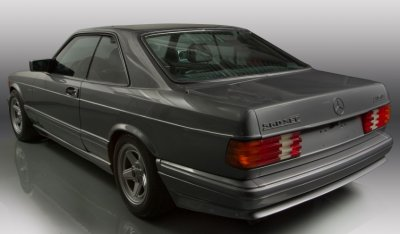 Mercedes Benz SEC560 AMG 1993 rear left view