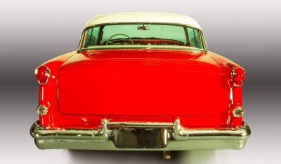 Oldsmobile 88 1956 rear view