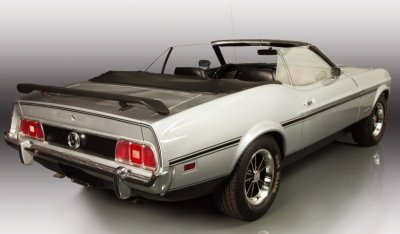 "Ford Mustang ""Boss"" 1973 rear right view"