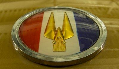 Studebaker Gran Turismo Hawk 1963 - Studebaker logo