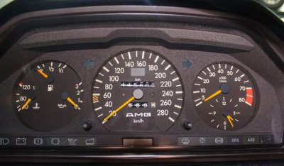 Gauges of Mercedes Benz 3,4 AMG CE300 1991